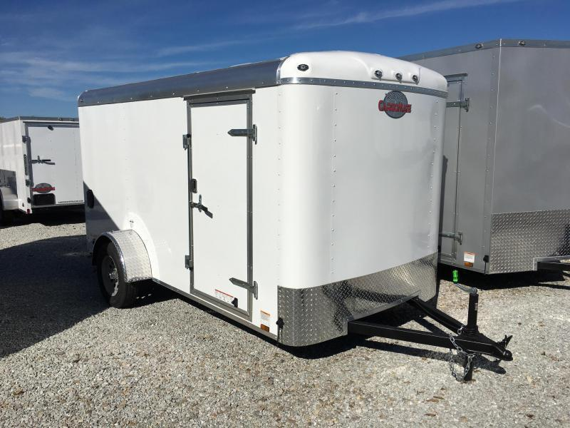 2018 6x12 Cargo Mate BL612SA Enclosed Cargo Trailer - Polar White (RD)(GVW: 2990)