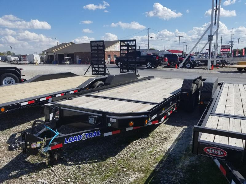 2017 83x20(16' Tilt + 4' Stationary) Load Trail TD202 Equipment Trailer - (GVW: 14000)
