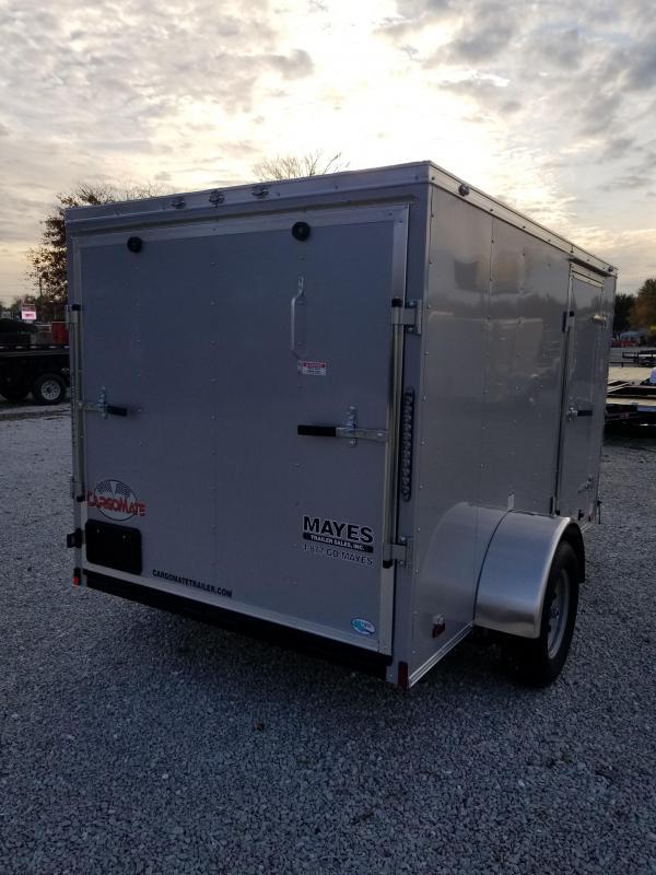 2018 6x10 Cargo Mate SS610SA Enclosed Cargo Trailer - Diamond Ice (RD)(GVW: 2990)