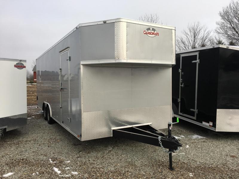 "2018 102x24 Cargo Mate EHW8524TA3 Enclosed Cargo Trailer - Diamond Ice (RD)(GVW: 9800)(12"" Extra Height)"