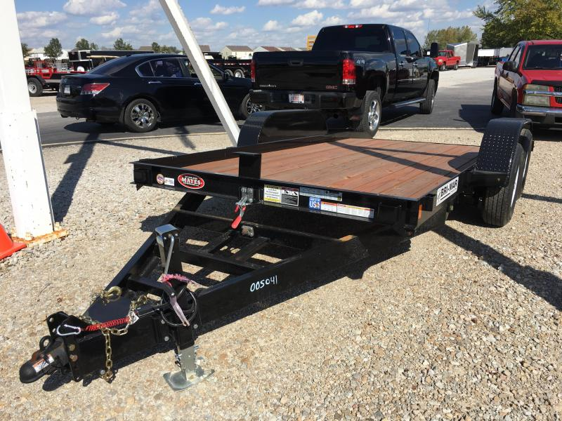 2017 80x16 Bri-Mar T16-10 Equipment Tilt Trailer - (GVW: 10000)