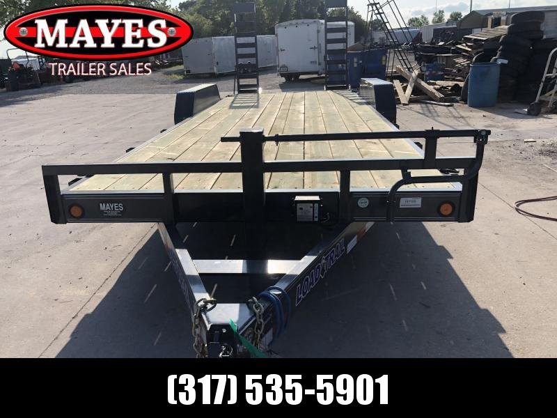 2019 83x22 (20+2) TA Load Trail CH8322072 Car / Racing Trailer - Fold Up Ramps - D-Rings (GVW:  14000)