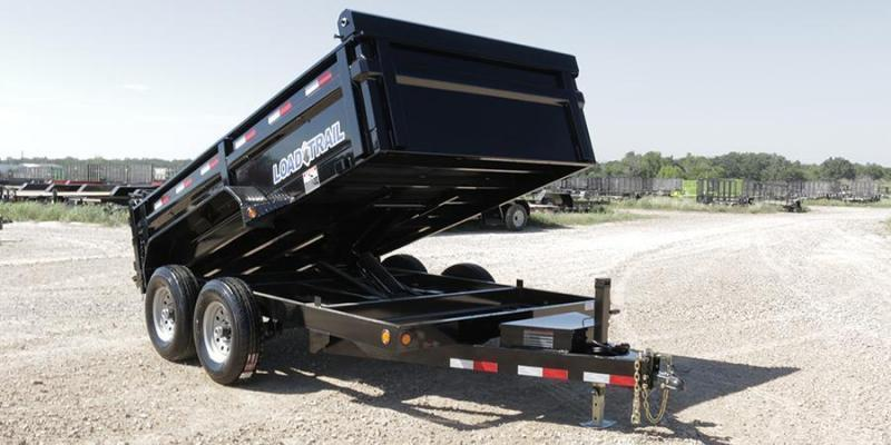2018 83x14 Load Trail DT14 Dump Trailer - (Tarp Kit)(Ramps)(GVW: 14000)