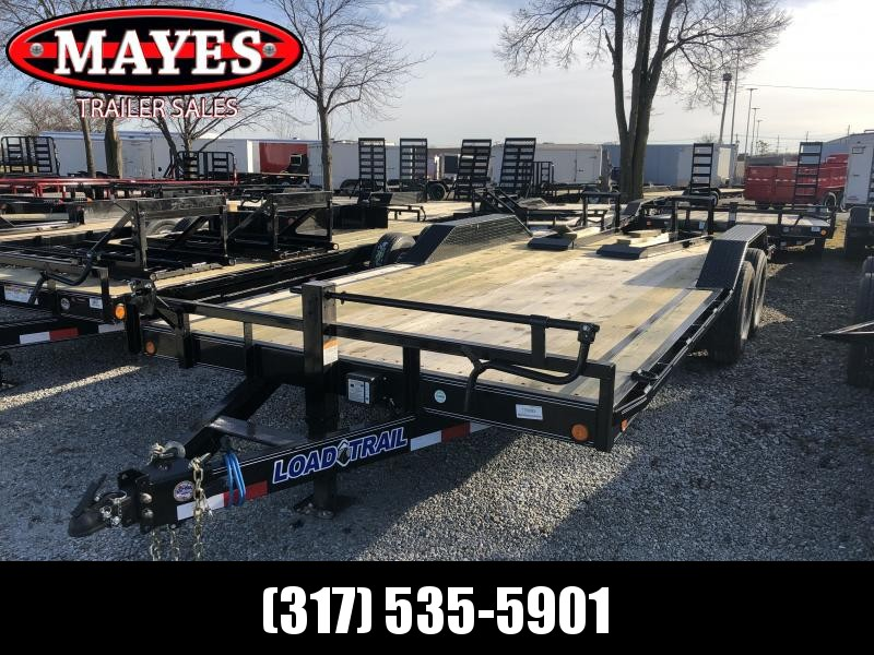 2019 102x20 (18+2) Load Trail CH0220072 Car / Racing Trailer - Fold Up Ramps (GVW:  14000)
