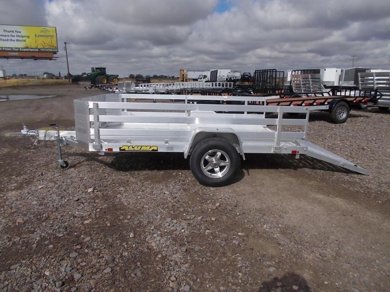 Aluma 7710H Utility trailer with Sides