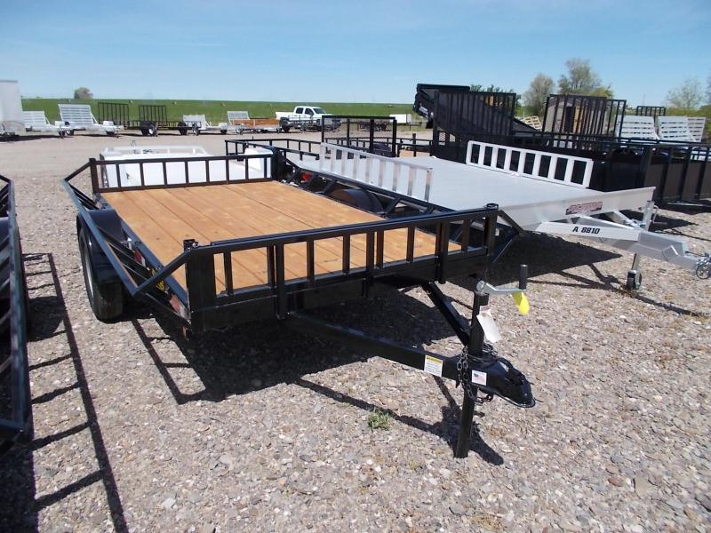 2016 Big Bubba 2 Place Slant Load ATV Trailer rubber mount lights