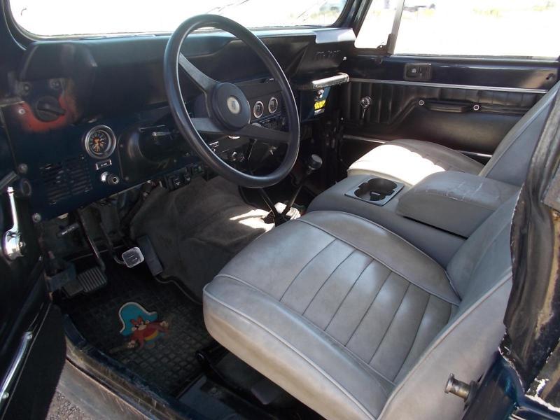 1984 Jeep CJ7 SUV