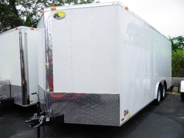 Forest River Inc. 8.5 x 20 Enclosed Car / Racing Trailer