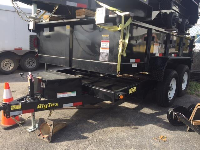 2017 Big Tex Trailers 10SR-12 Dump Trailer