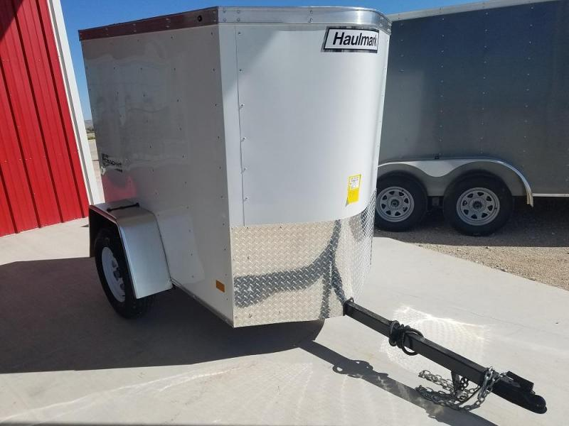 2018 Haulmark PPT4X8DS2 Enclosed Cargo Trailer