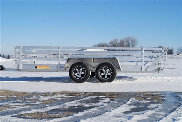 "2012 Bear Track 82"" x 168"" Tandem Axle ATV Trailer"
