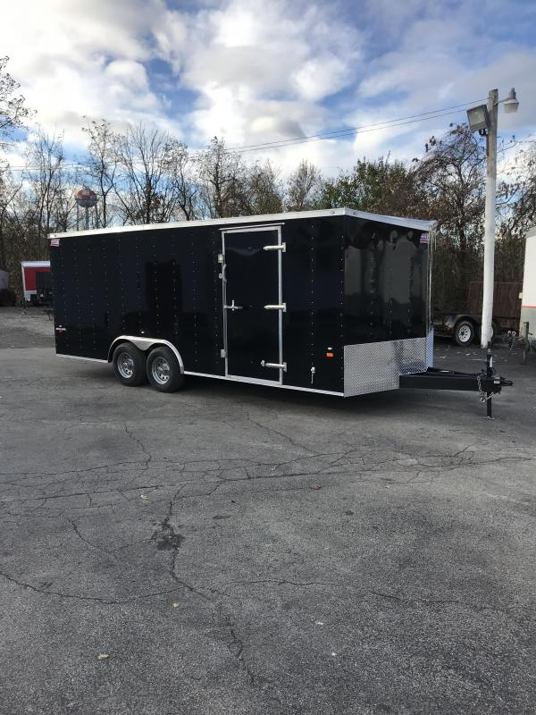 2018 American Hauler Industries NH8520TA3 Car / Racing Trailer