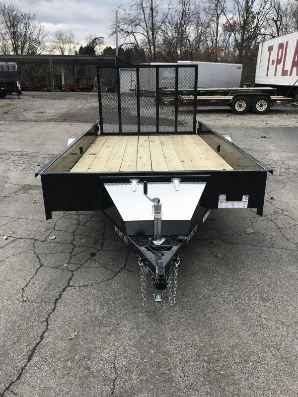 2018 Rice SST7612 Utility Trailer