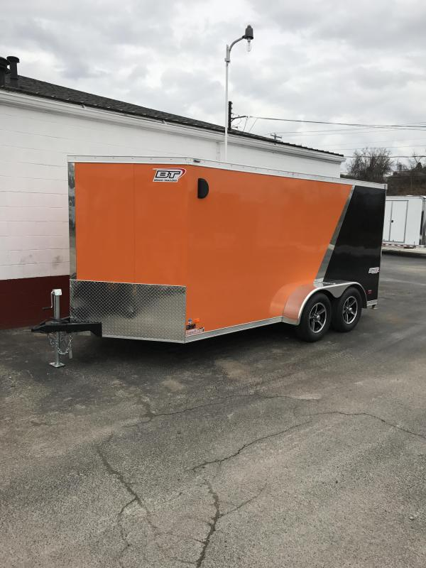 2018 Bravo Trailers STLR714TA2 Motorcycle Trailer