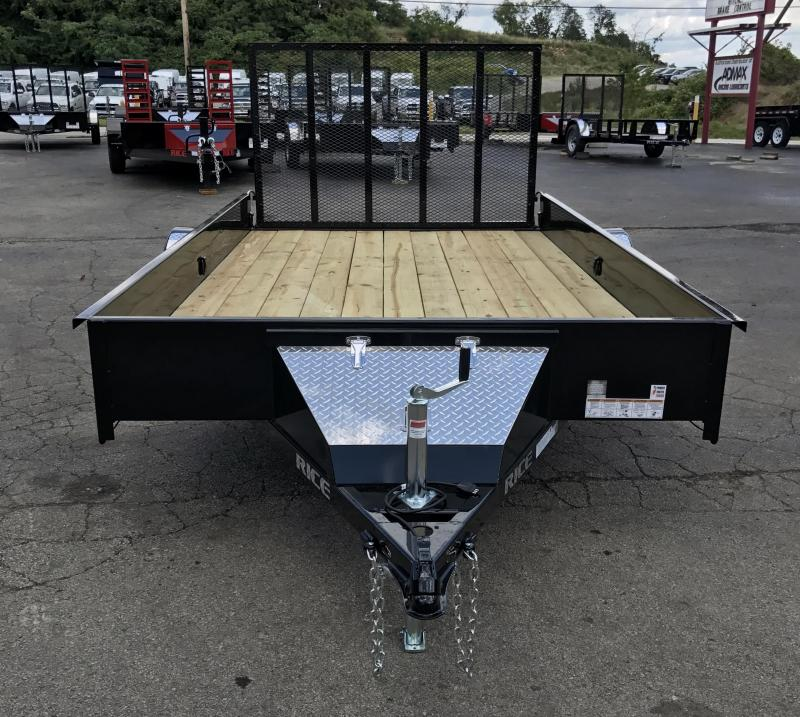 2017 Rice SST8212 Utility Trailer