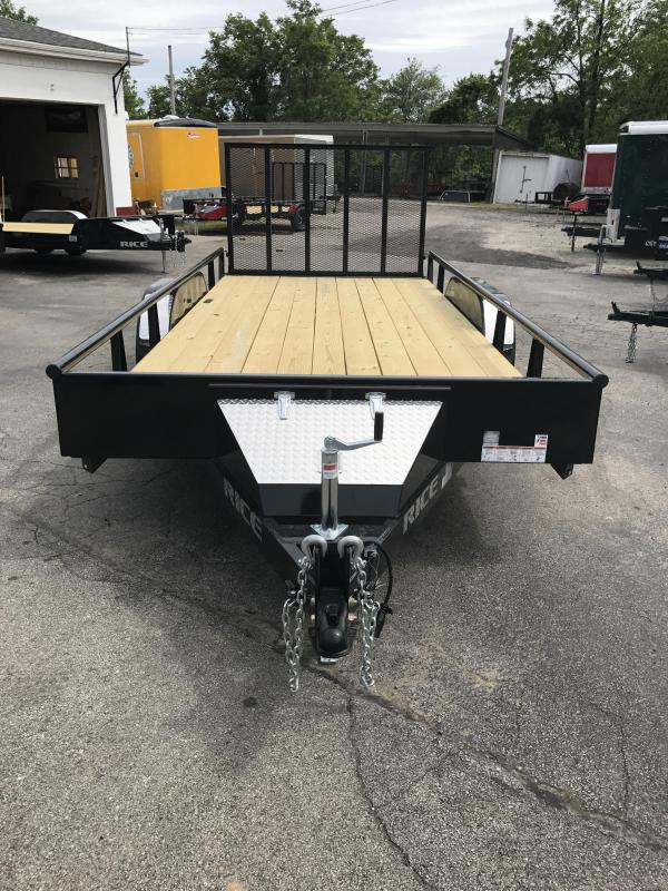 2017 Rice TDP8216 Utility Trailer
