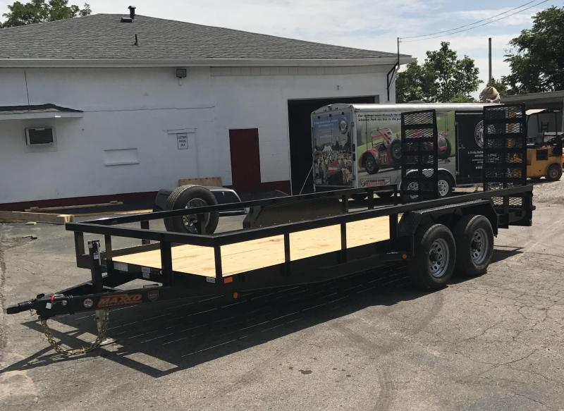 2018 Maxxd Trailers U5X8318 Equipment Trailer