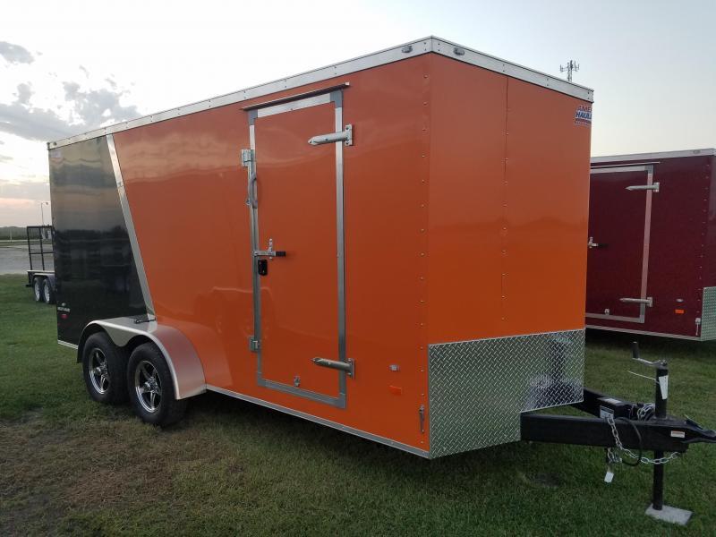 2017 American Hauler Industries 7x16 Night Hawk Enclosed Cargo Trailer