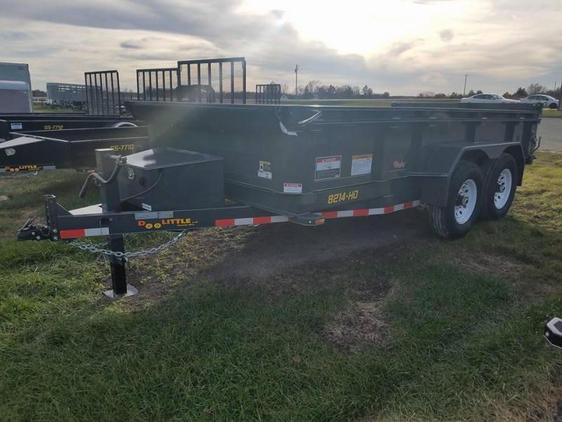 2018 Doolittle Trailer Mfg 82x14 Master Dump 14k Dump Trailer