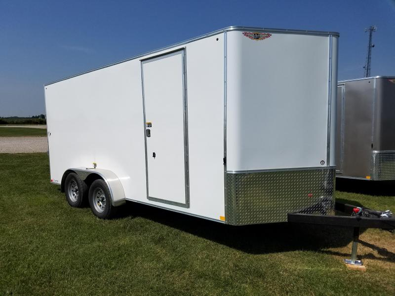 2018 H and H Trailer 7x16 CA Series Enclosed Cargo Trailer