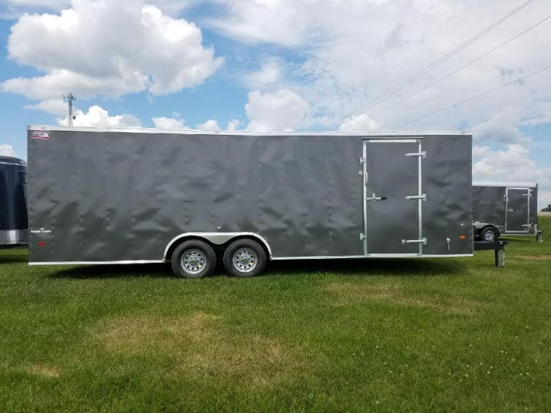 2018 American Hauler Industries Night Hawk 8.5x24 Car / Racing Trailer