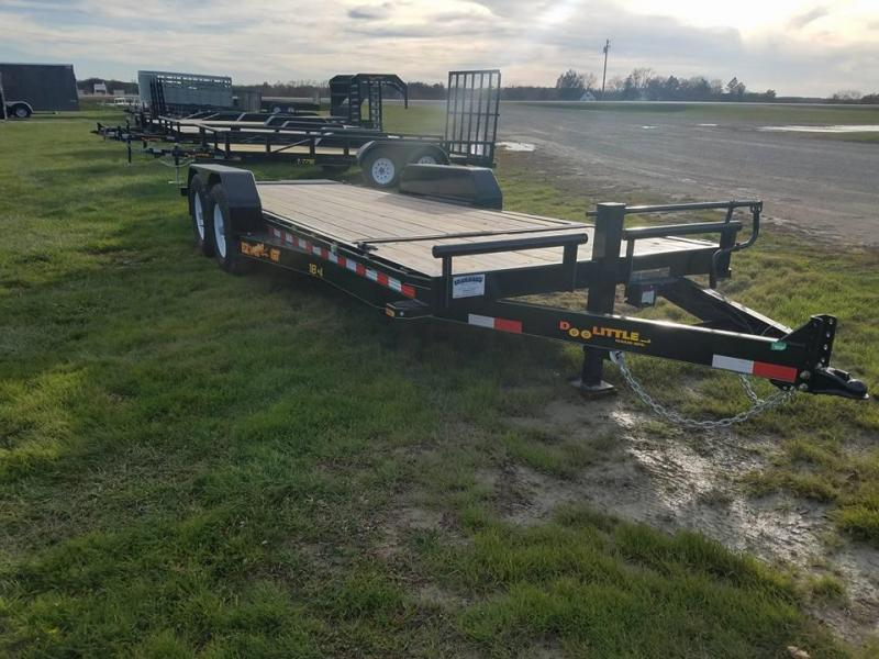 2018 Doolittle Trailer Mfg 14k EZ Loader GT Tilt Bed Equipment Trailer