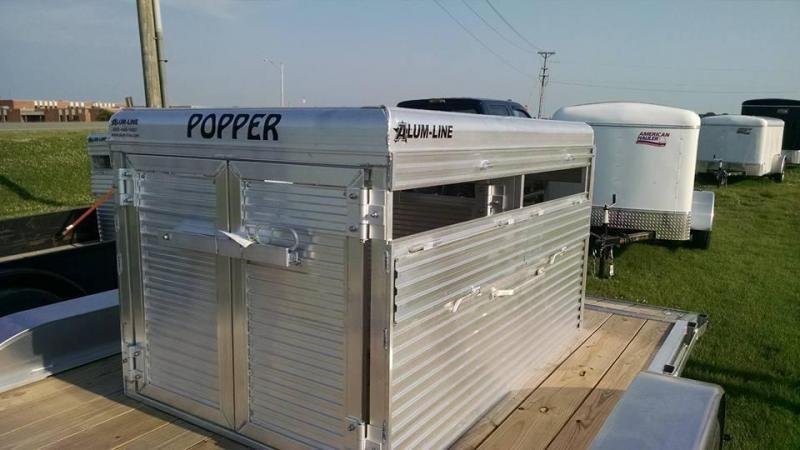 2017 Alum-Line Trailers Popper Farm / Ranch