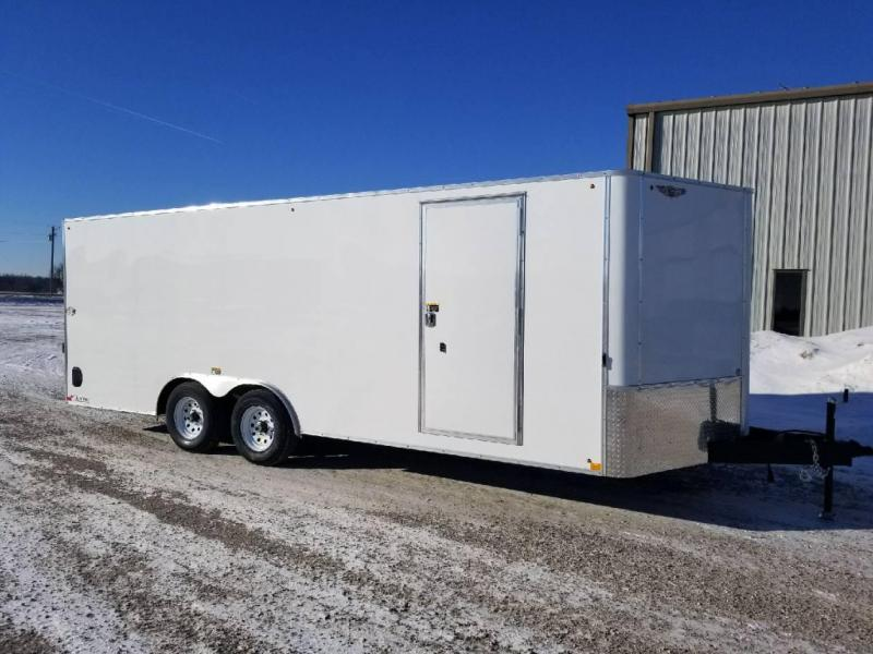 2018 H and H Trailer 8.5x20 CAFT Enclosed Cargo Trailer