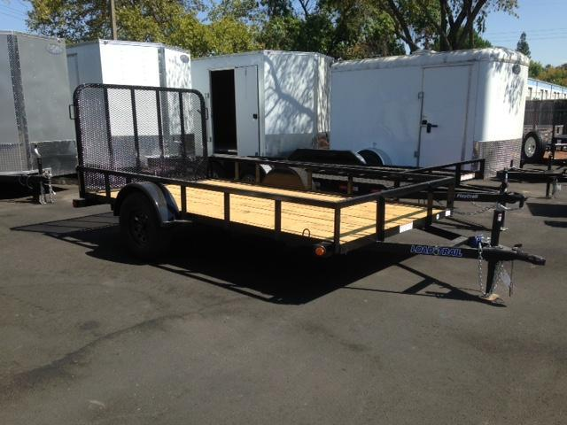 "2019 Load Trail 77"" X 12' Single Axle Utility Trailer"