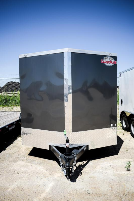 2019 Cargo Mate 7X12 Enclosed T/A 7K