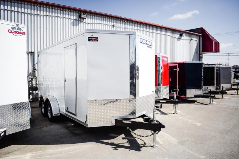 2018 Sure-Trac 7 x 16 Pro Series Wedge Cargo TA 7K Barn