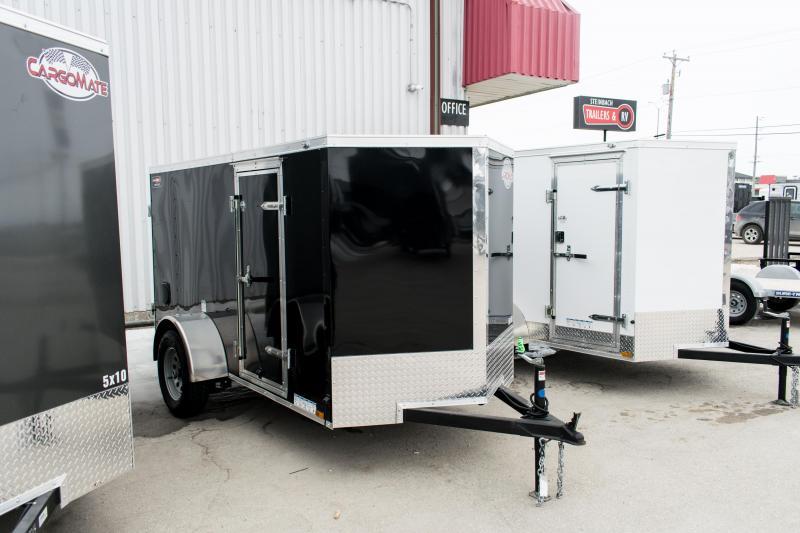 2019 Cargo Mate 5 X 10 Enclosed Cargo Trailer