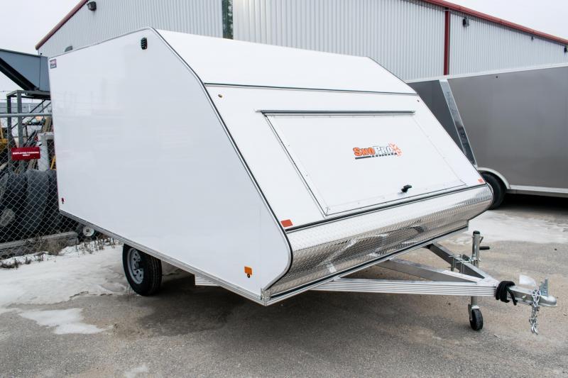 2019 Snopro 101X12 Hybrid Enclosed Snowmobile Trailer