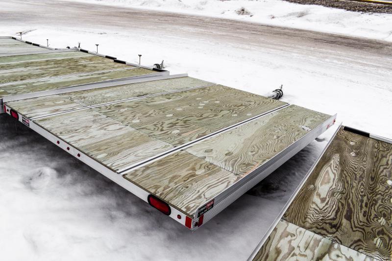 2016 SnoPro 10ft Lite-E 2-Place Snowmobile Trailer