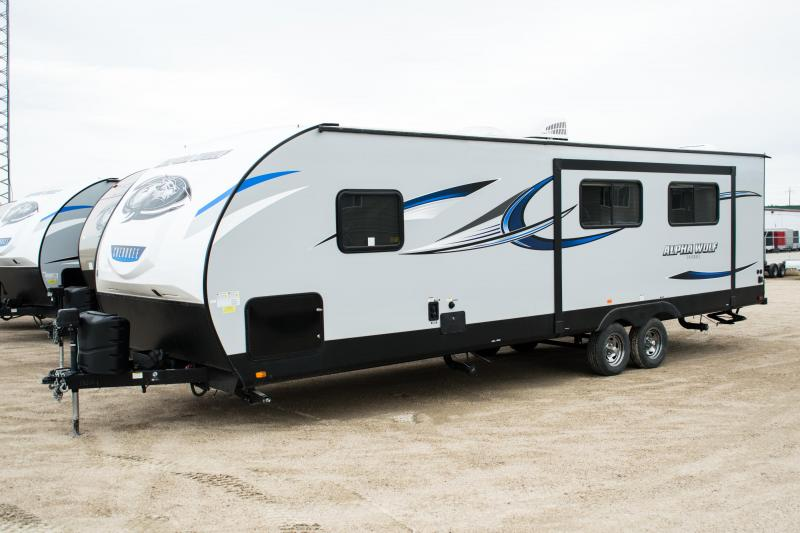 2018 Cherokee Trailers Alpha Wolf 27RK-L Travel Trailer