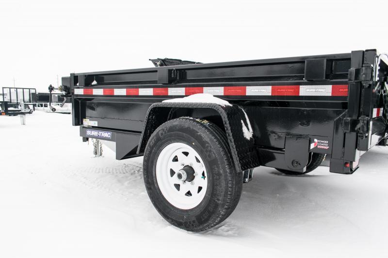 2019 Sure-Trac 62in x 8 LProfile Dump 5K Single Ram