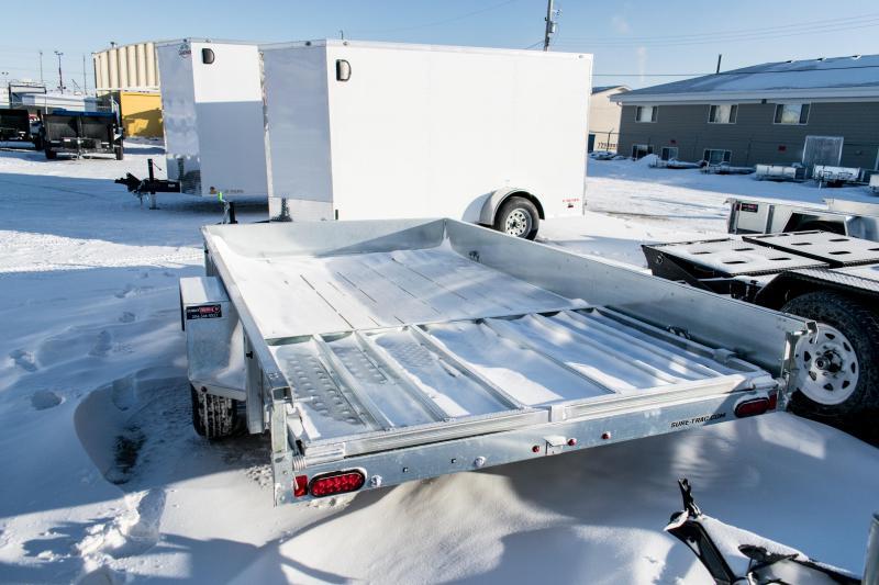 2019 Sure-Trac 7 x 12 Galvanized High Side 3k Idler