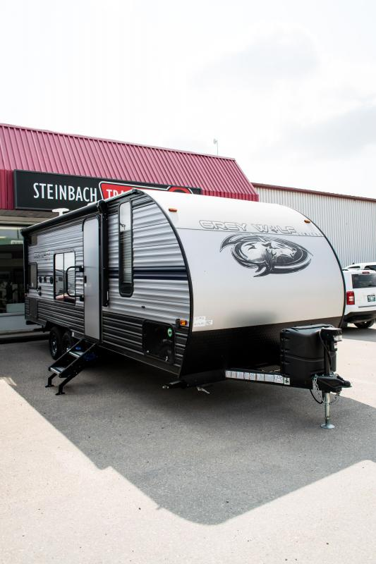 2019 Grey Wolf 22MKSE Special Edition Travel Trailer
