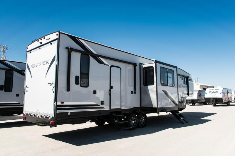 2019 Wolf Pack 325PACK13 Limited Toy Hauler Fifth Wheel