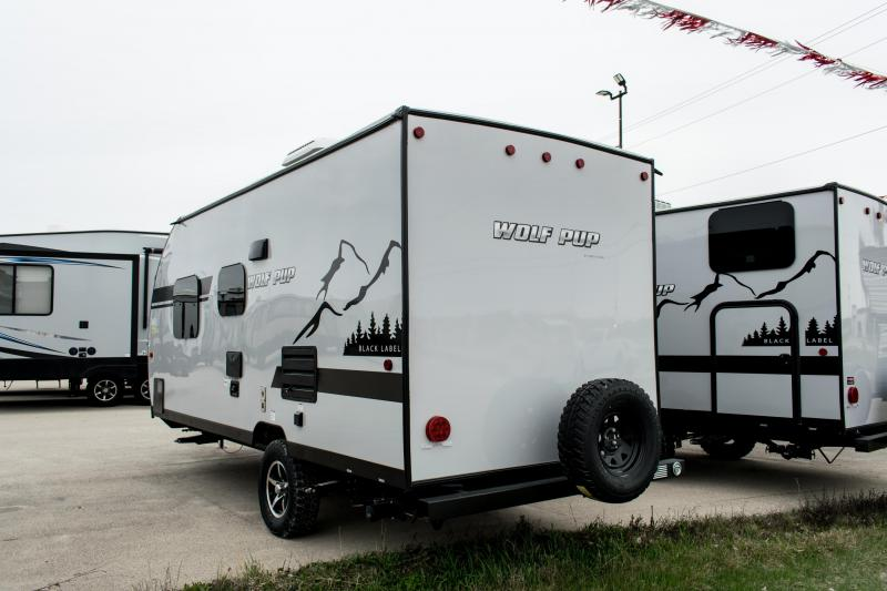 2019 Wolf Pup Limited 16FQ Black Label/Adventure Travel Trailer