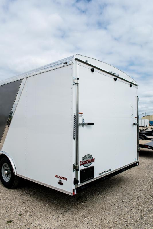 2019 Cargo Mate Blazer 8 X 20 Enclosed Cargo Trailer 10K