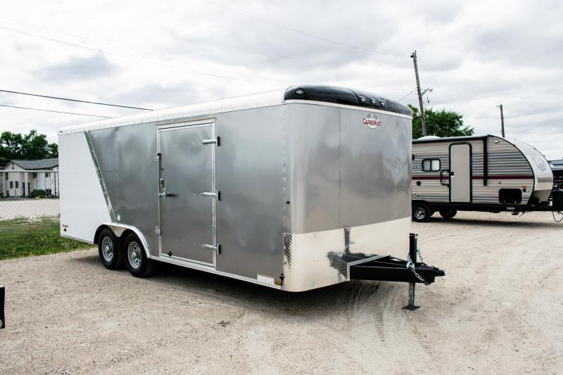 2019 Cargo Mate Blazer 8.5 X 20 Enclosed Cargo/Carhauler Trailer 10K
