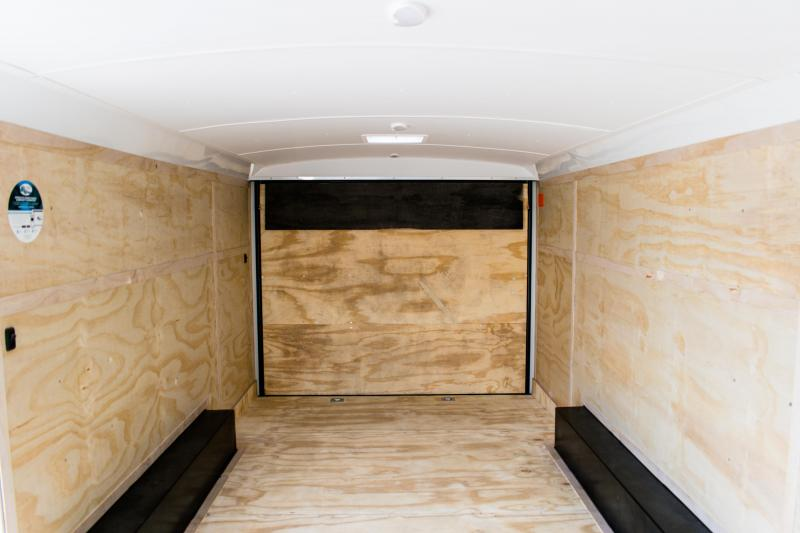 2019 Cargo Mate Blazer 8.5 X 20 Enclosed Cargo/Carhauler Trailer 10K