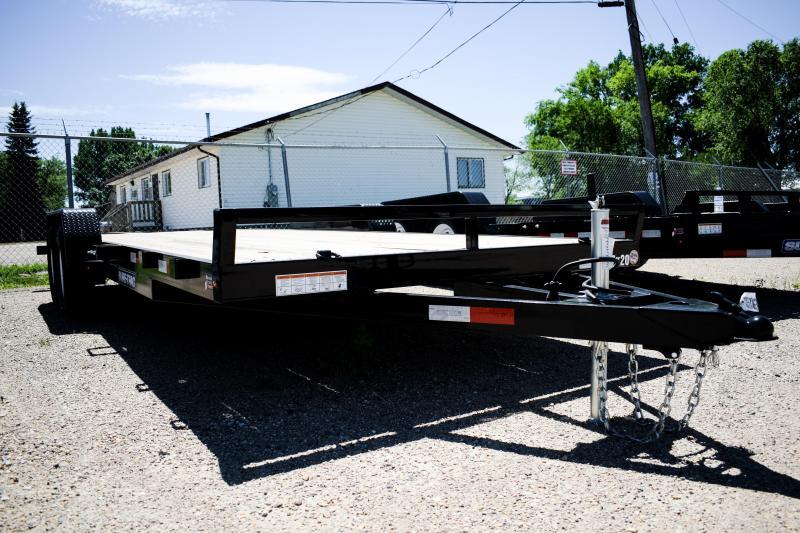 2018 Sure-Trac 7 X 20 Wood Deck Car Hauler  7k