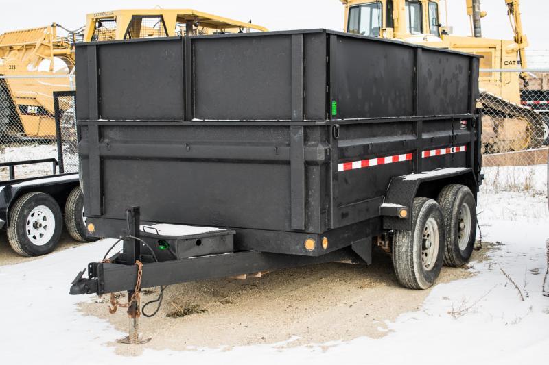 2012 Load Trail 7 x 12 Dump Trailer 4' High Sides 14K