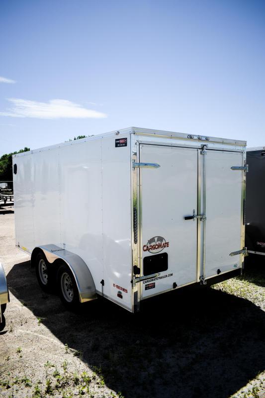 2019 Cargo Mate 7x14 Cargo Enclosed Trailer Barn 7k
