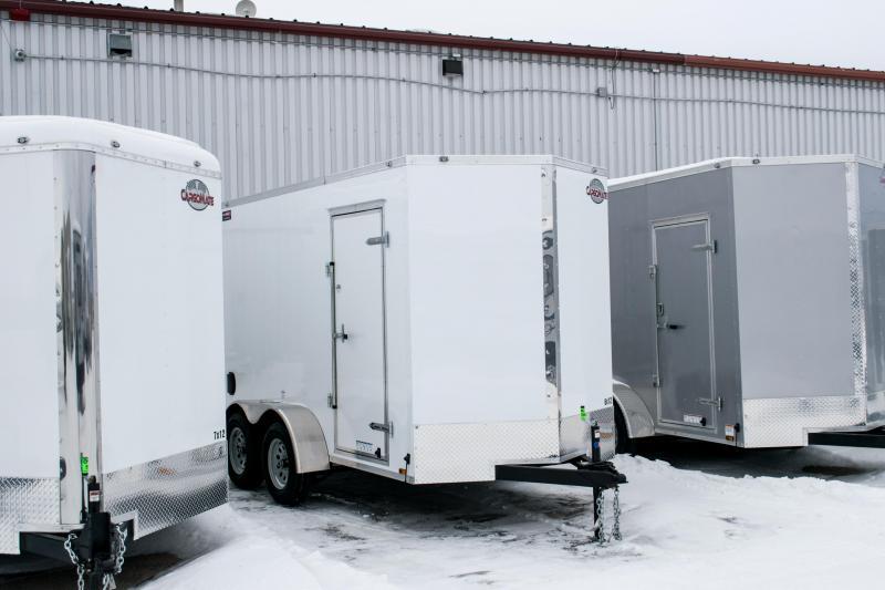 "2019 Cargo Mate 6X12 Enclosed Cargo Trailer +6"" 7K Barn"