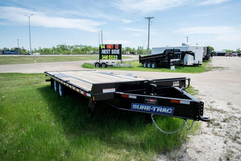 2019 Sure-Trac 8.5x20 LowPro Deckover Tandem BP 15K