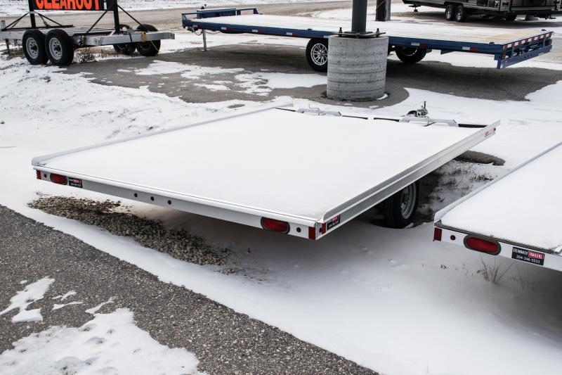 2018 Snopro 12' Xtreme Snowmobile Trailer