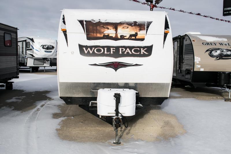 2011 Wolf Pack 27WP Toy Hauler Camper
